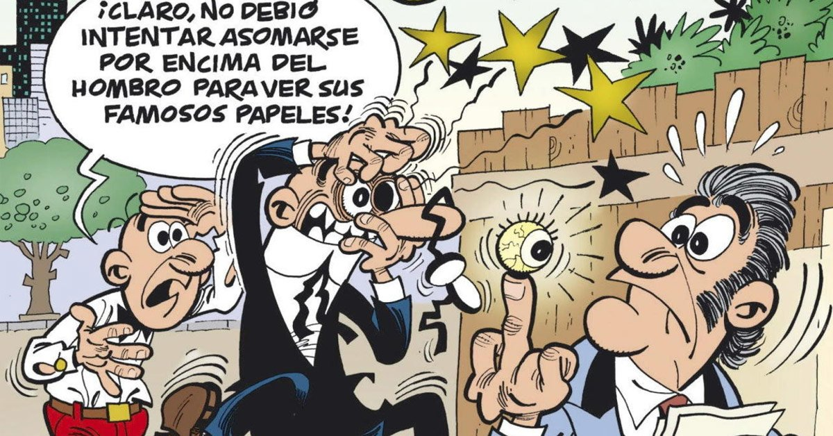 Mortadelo  y Filemón elecciones partido pepero