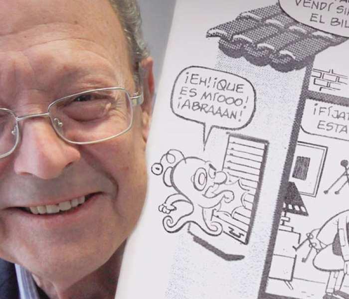 Entrevista a Francisco Ibáñez, creador de Mortadelo y Filemón