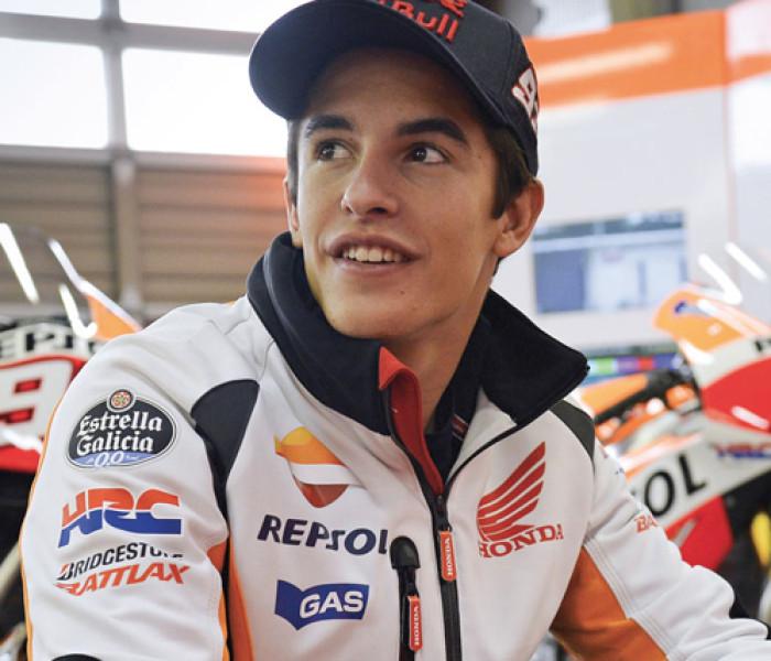 Entrevista a Marc Márquez, piloto español de motociclismo