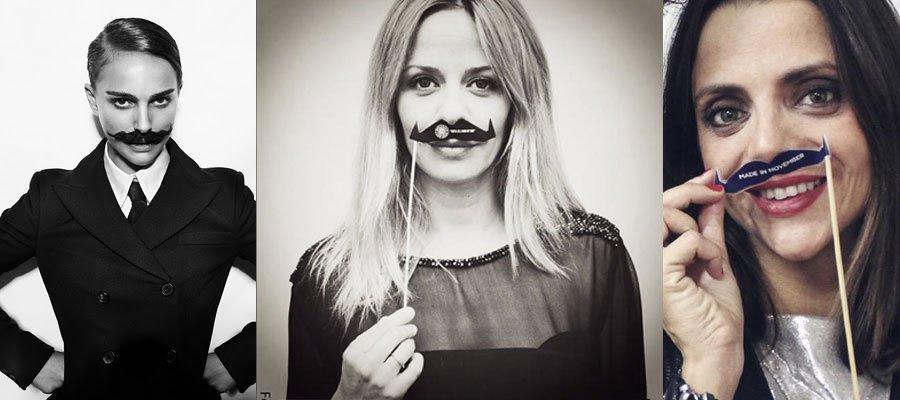 Las mujeres tambíen participan en Movember
