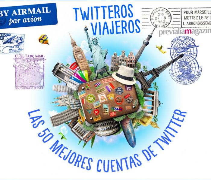 Las 50 mejores cuentas de Twitter sobre viajes para seguir | Twitteros viajeros