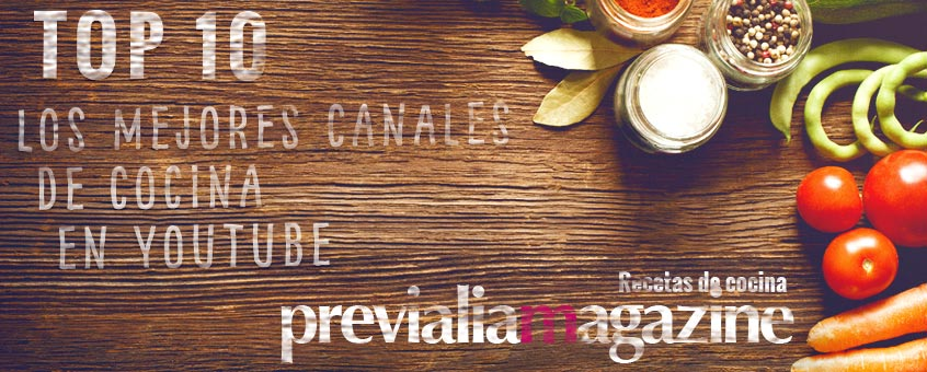 canales cocina youtube