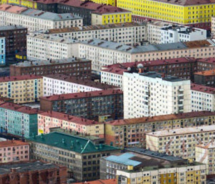La ciudad mas fría del mundo, Norilsk al norte de Rusia
